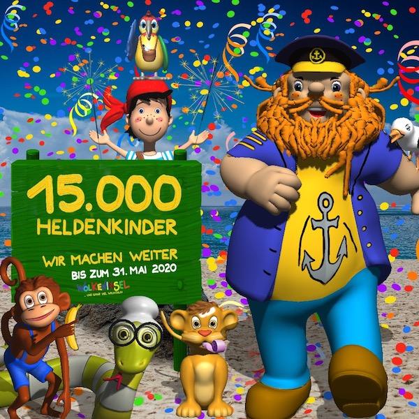 15.000 Heldenlieder! Wir machen weiter! Bis zum 31. Mai 2020