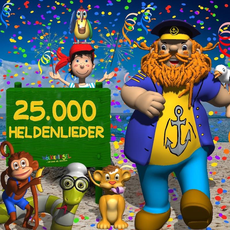 25.000 Heldenlieder! Wir machen weiter! Bis zum 28. März 2021